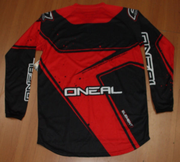 ONEAL ELEMENT R/WEAR JERSEY BLK/RED LARGE