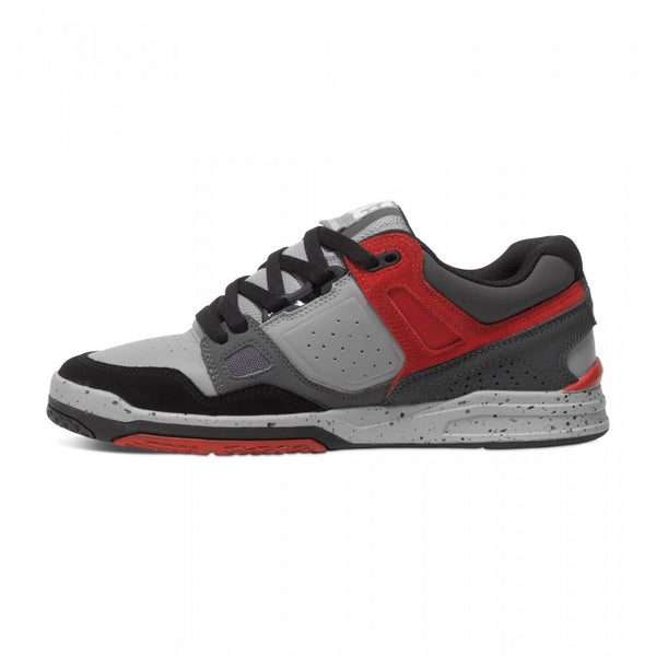 STAG 2 MENS SHOE GREY/GREY/RED, Grey, 8