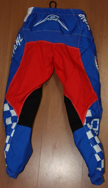 ELEMENT AFTERBURN YOUTH PANT BLU/RED 8/10