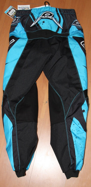 ONEAL ELEMENT R/WEAR PANT BLK/CYAN/BLUE ADULT 32