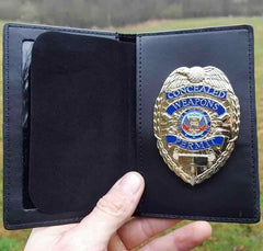 CWP Metal Gold Badge & Wallet - SHIPS SAME WEEKDAY