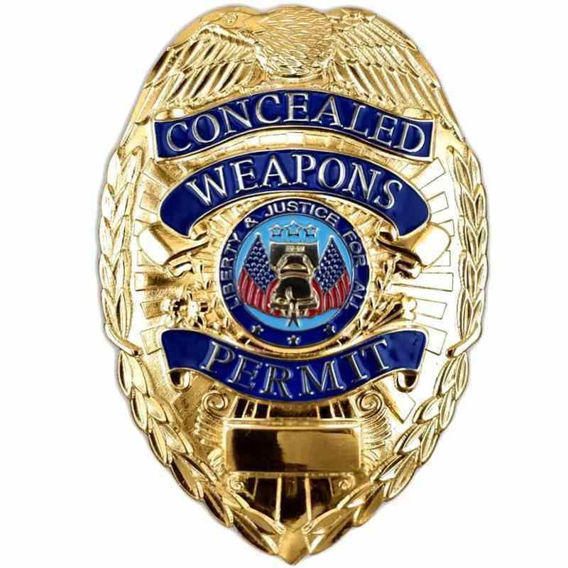 CWP Metal Gold Badge ONLY