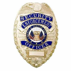 Security - Security Enforcement Officer Badge