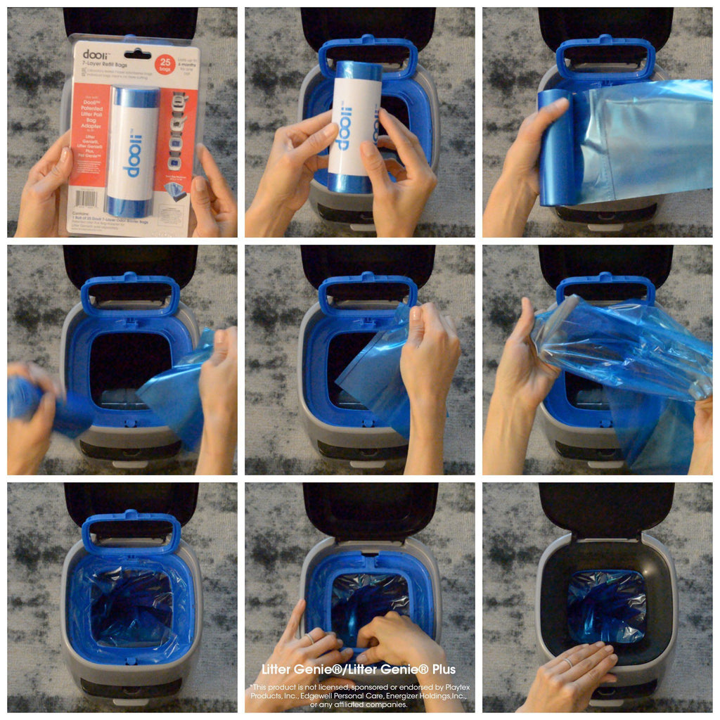 Litter Genie® Compatible Bag Refills