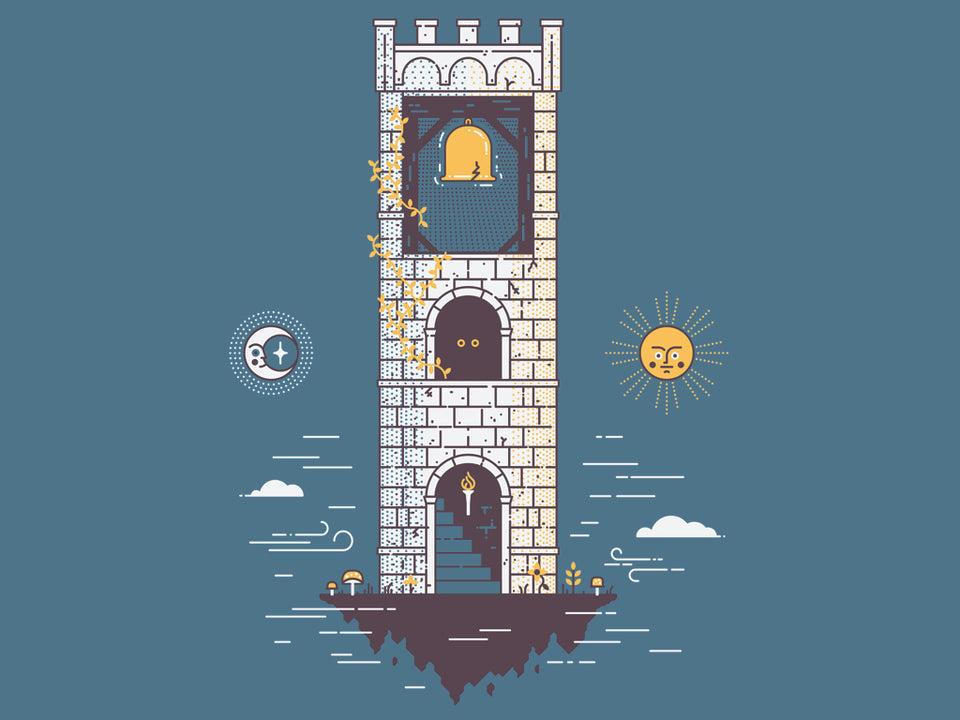 Franklin's Tower Tee