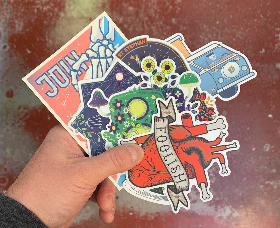 Magic Sticker Pack #12