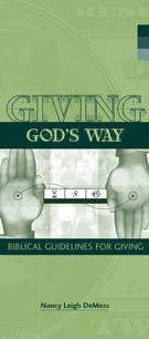 Giving God's Way (Pamphlet)