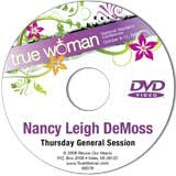 True Woman 08: From Him, Through Him, To Him by Nancy DeMoss Wolgemuth (DVD)