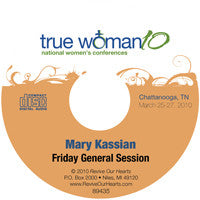 True Woman 10 Chattanooga: The Genesis of Gender by Mary Kassian (CD)