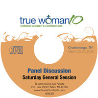 True Woman 10 Chattanooga: Living Out the True Woman Message Panel Discussion (CD)