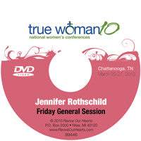 True Woman 10 Chattanooga: Why Such Grace? by Jennifer Rothschild (DVD)