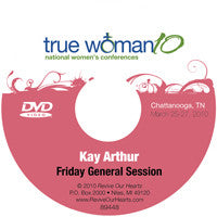 True Woman 10 Chattanooga: A True Woman Rebuilds Walls by Kay Arthur (DVD)