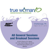 True Woman 10 Chattanooga: Conference MP3CD Set