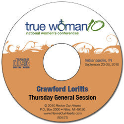 True Woman 10 Indianapolis: What in the World Do Your Want? by Crawford Loritts (CD)