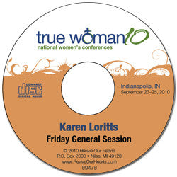 True Woman 10 Indianapolis: A True Woman Learns to Trust by Karen Loritts (CD)