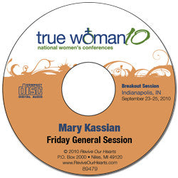 True Woman 10 Indianapolis: A True Woman Chooses Wisdom by Mary Kassian (CD)