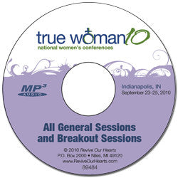 True Woman '10 Indianapolis: Conference MP3CD Set