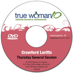 True Woman 10 Indianapolis: What in the World Do You Want by Crawford Loritts (DVD)