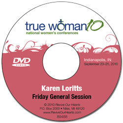 True Woman 10 Indianapolis: A True Woman Learns to Trust by Karen Loritts (DVD)