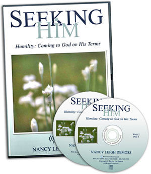 Seeking Him Humility: Coming to God on His Terms (CDs)