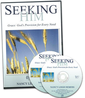 Seeking Him Grace: God's Provision for Every Need (CDs)