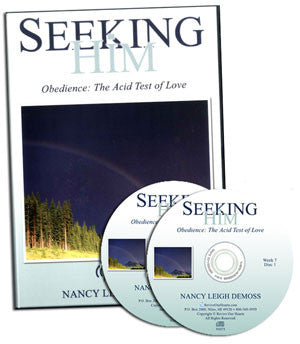 Seeking Him Obedience: The Acid Test of Love (CDs)