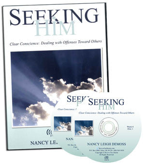 Seeking Him Clear Conscience: Dealing with Offenses Toward Others (CDs)