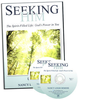 Seeking Him The Spirit-Filled Life: God's Power in You (CDs)