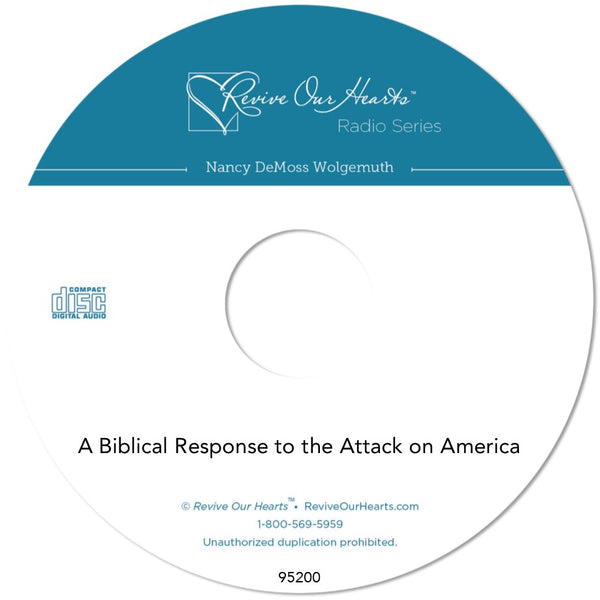 A Biblical Response to the Attack on America (CD)