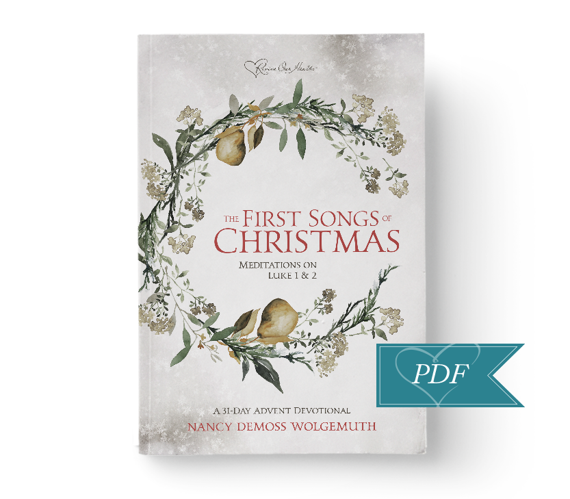The First Songs of Christmas Advent Devotional DIGITAL DOWNLOAD