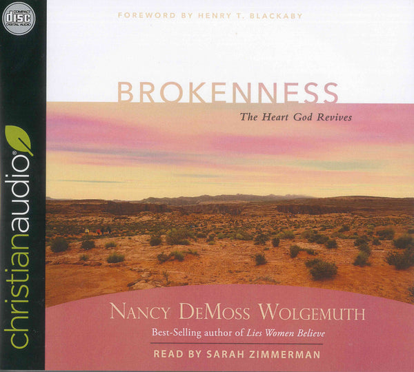 Brokenness: The Heart God Revives Audio Book CD