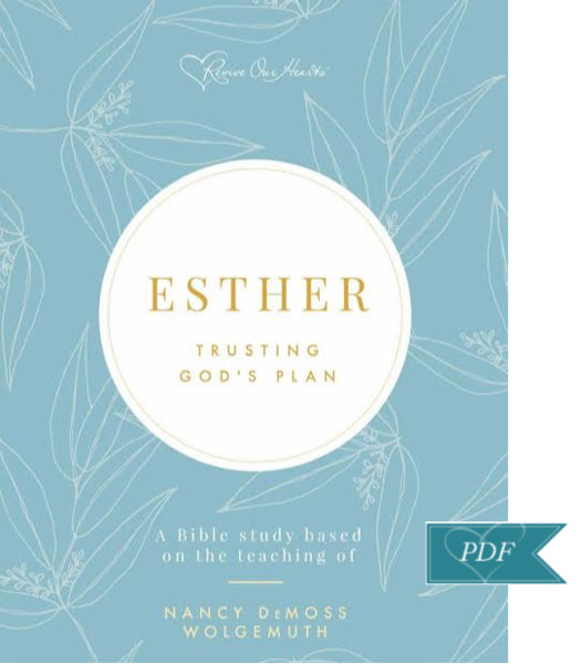 Esther Bible Study DIGITAL DOWNLOAD