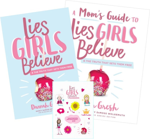 Lies Girls Believe and A Mom's Guide to Lies Girls Believe Bundle