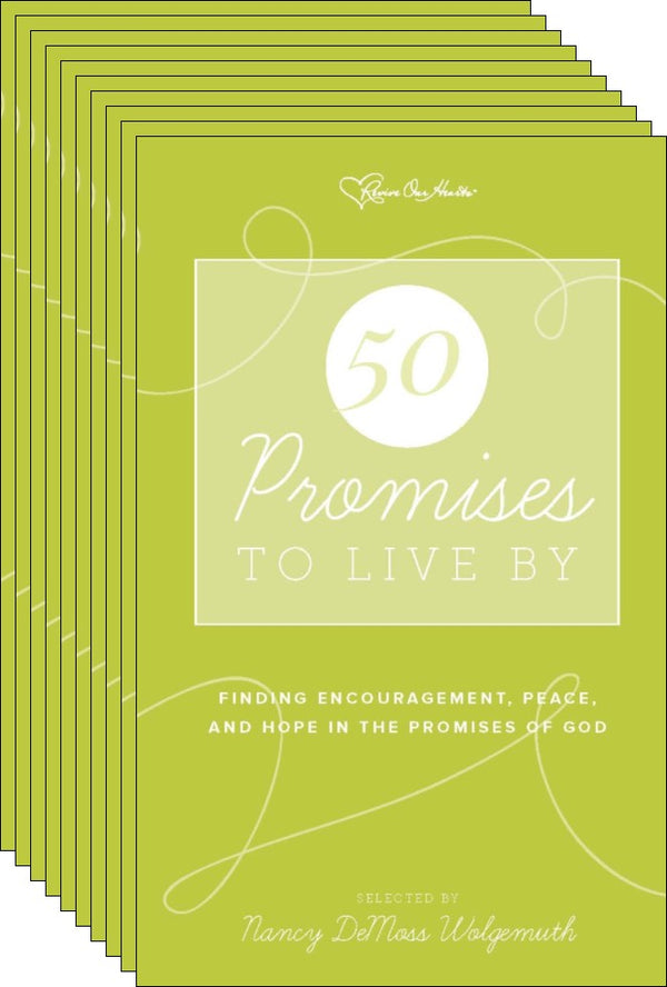 Promises to Live By Pk 10 (Pamphlet)