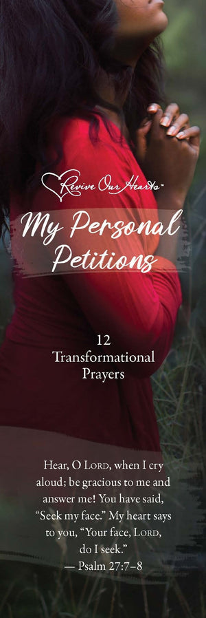 My Personal Petitions Pk 25 (Bookmark)
