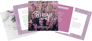Refresh: 30 Days of Personal Revival Journaling Set