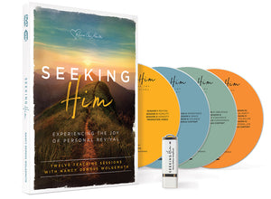 Seeking Him Video Set (Includes 4 DVDs and 1 USB)