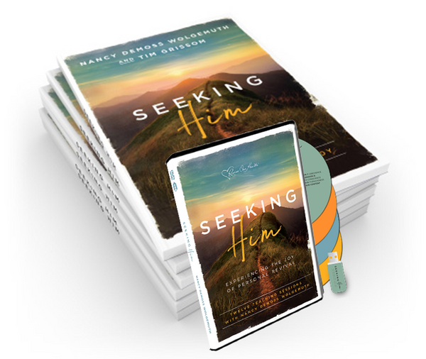 Seeking Him Small Group Bundle (5 Books + Video Set)