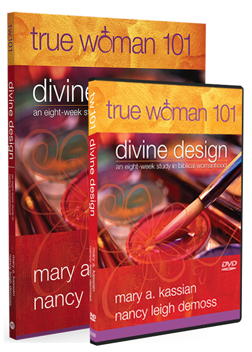 True Woman 101: Divine Design Book & DVD Set
