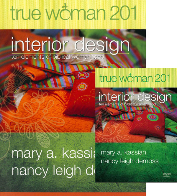 True Woman 201: Interior Design Book & DVD Set