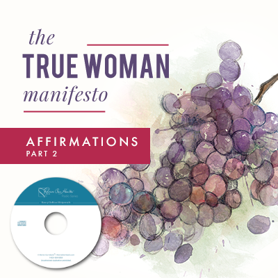 The True Woman Manifesto - Affirmations Part 2 (CDs)