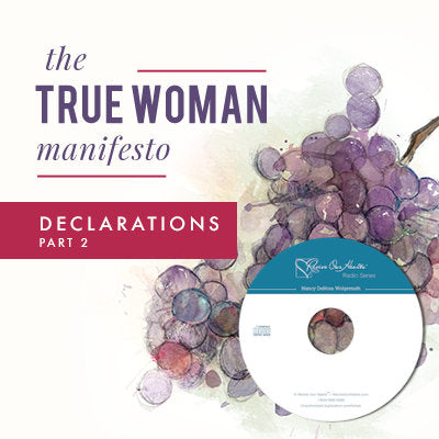 The True Woman Manifesto - Declarations Part 2 (CDs)