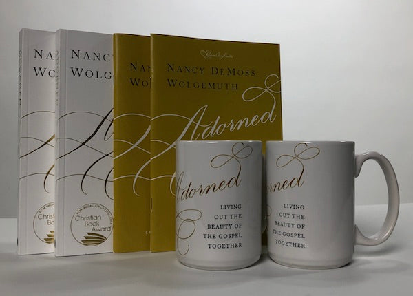 Adorned Bundle (2 softcover books, 2 study guides, 2 mugs)
