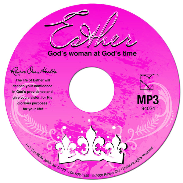 Esther: God's Woman at God's Time (MP3CD)