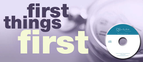 First Things First (CDs)
