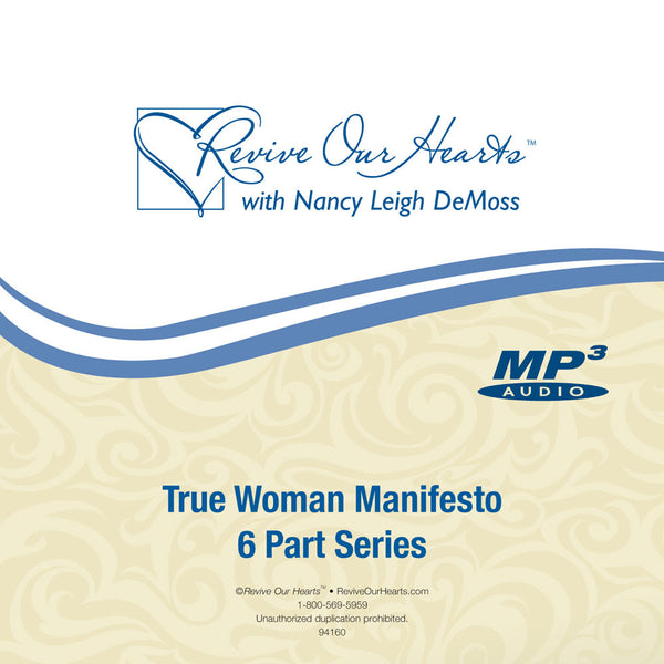True Woman Manifesto Series (MP3CD)