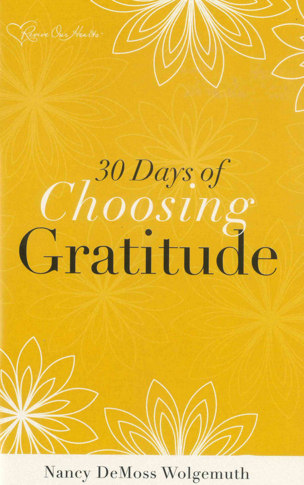 30 Days of Choosing Gratitude Booklet