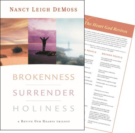 Brokenness, Surrender, Holiness: ROH Trilogy with Brokenness bkmk Set