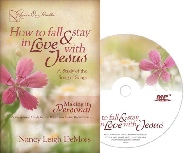 How to Fall and Stay in Love with Jesus Set - Radio MP3CD & Booklet