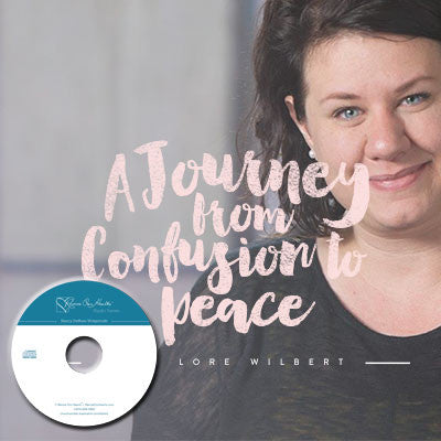 A Journey from Confusion to Peace with Lore Wilbert (CD)